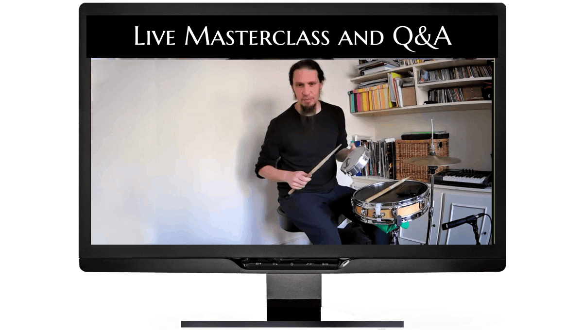 Live Masterclass and Q&A To Learn Brazilian Drum Kit