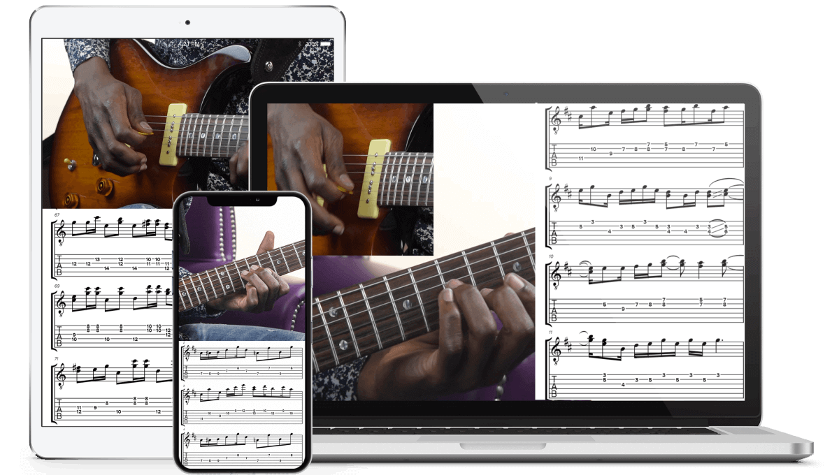 Interactive on-screen Notation