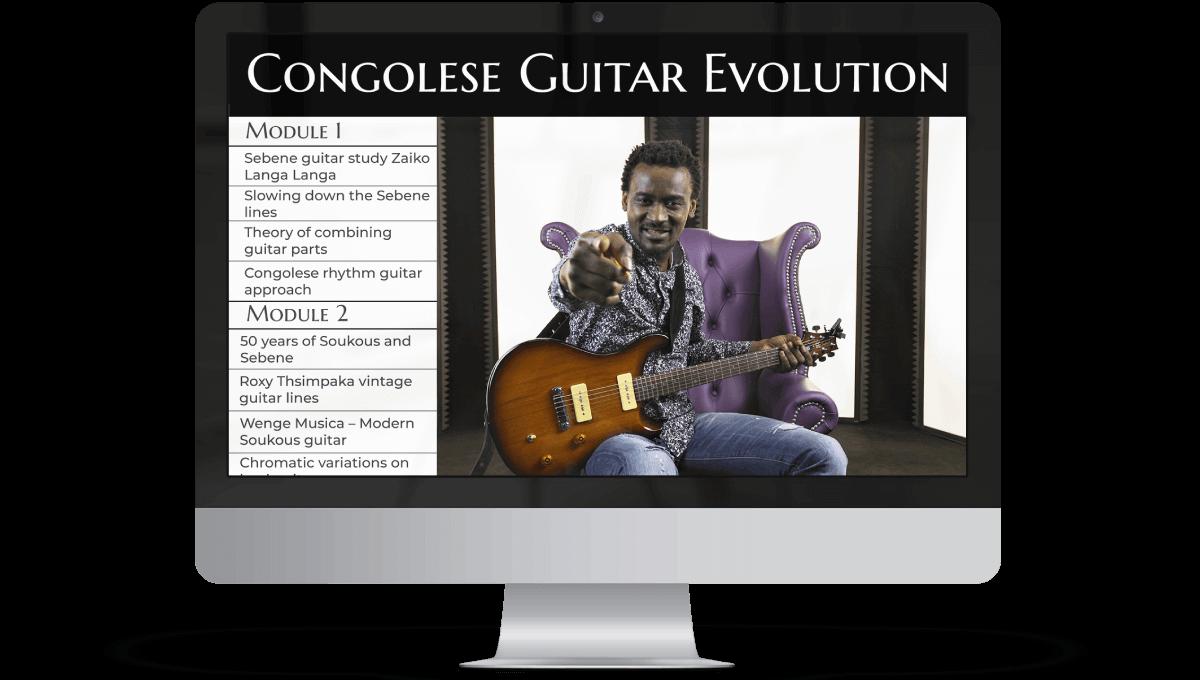 Congolese Guitar Evolution