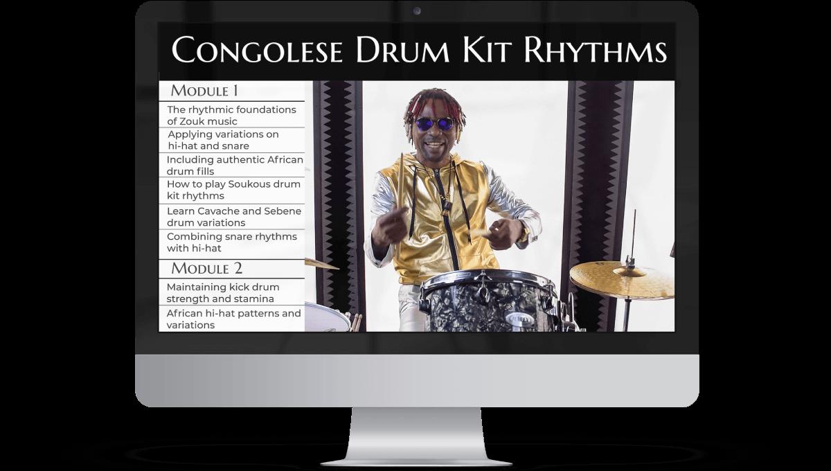 Congolese Drum Kit Rhythms
