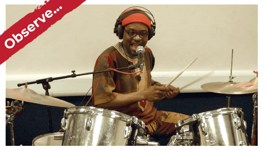 Learn African Drum Kit Online