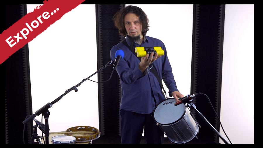 Popular Brazilian Drum Kit Rhythms