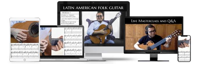 Learn Latin American Folk Guitar