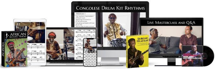 Learn Congolese Drum Kit Rhythms