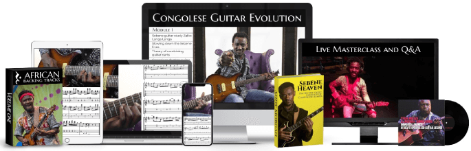Congolese Guitar Evolution – Online Course