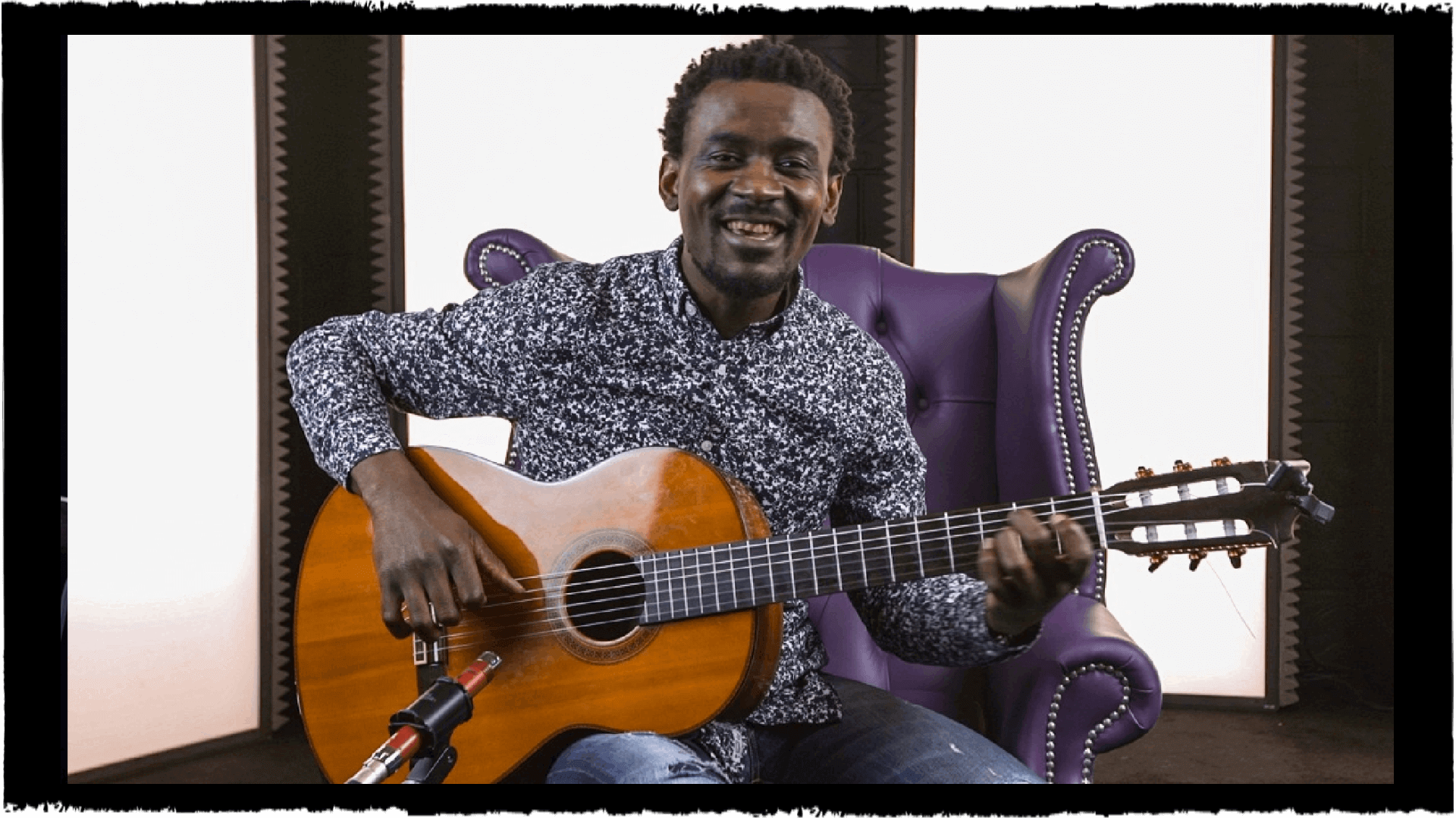 Learn African FingerStyle Guitar With Niwel Tsumbu