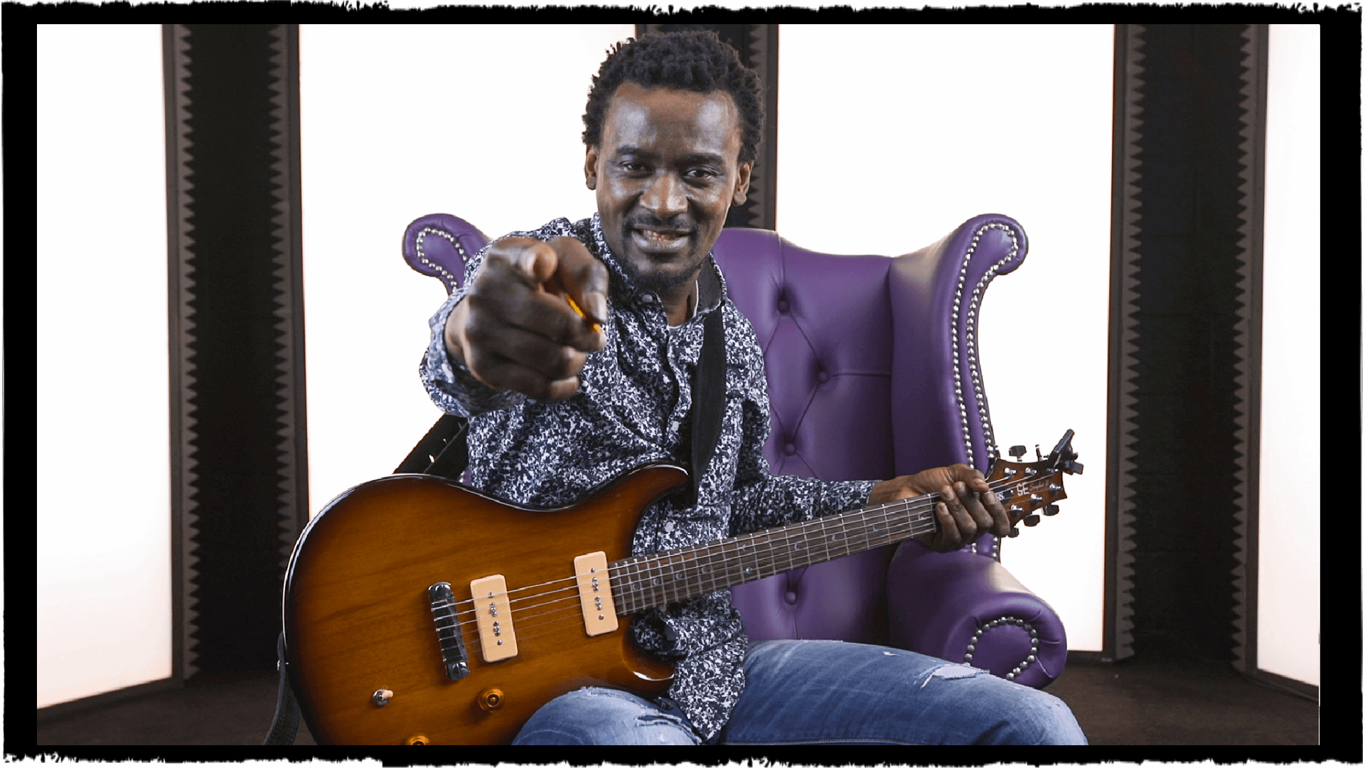 Learn Congolese Guitar With Niwel Tsumbu