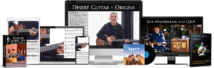 Learn Desert Guitar