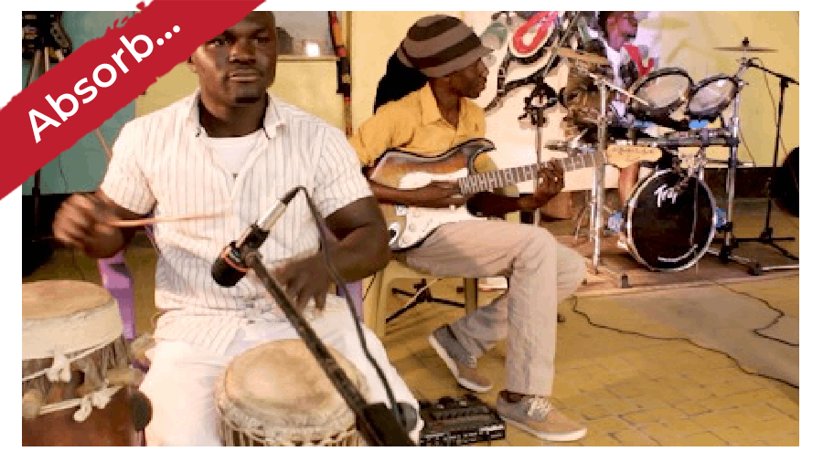 Learn African Bass Guitar